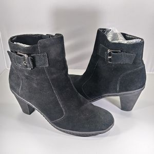 Strictly Comfort Ankle Buckle Bootie Boots Size 9